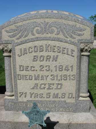 KIESELE (CW), PVT.JACOB - Bucks County, Pennsylvania | PVT.JACOB KIESELE (CW) - Pennsylvania Gravestone Photos