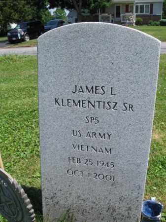 KLEMENTISZ (VN), JAMES L. - Bucks County, Pennsylvania | JAMES L. KLEMENTISZ (VN) - Pennsylvania Gravestone Photos