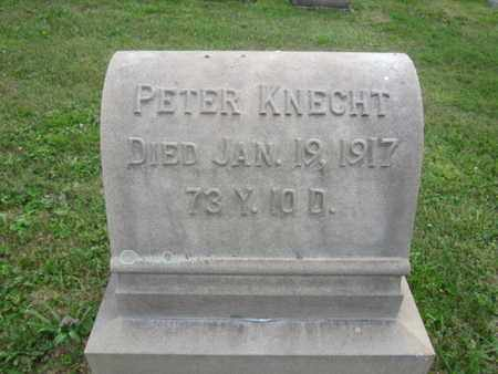 KNECHT, PETER - Bucks County, Pennsylvania | PETER KNECHT - Pennsylvania Gravestone Photos