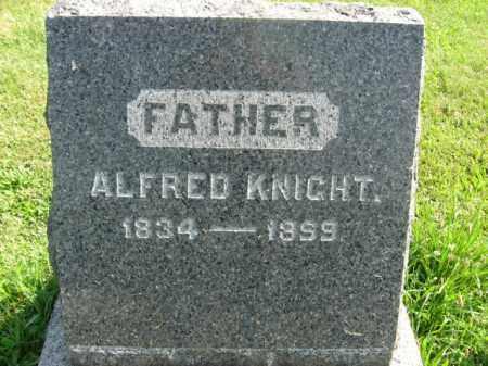 KNIGHT, ALFRED - Bucks County, Pennsylvania | ALFRED KNIGHT - Pennsylvania Gravestone Photos