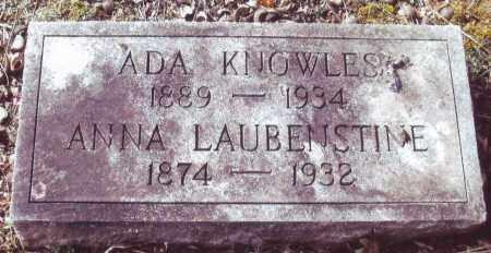 LAUBENSTINE KNOWLES, ADA - Bucks County, Pennsylvania | ADA LAUBENSTINE KNOWLES - Pennsylvania Gravestone Photos