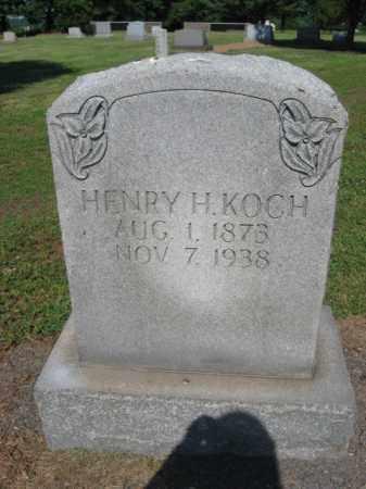 KOCH, HENRY H. - Bucks County, Pennsylvania | HENRY H. KOCH - Pennsylvania Gravestone Photos