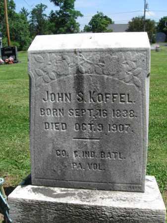 KOFFEL (CW), JOHN S. - Bucks County, Pennsylvania | JOHN S. KOFFEL (CW) - Pennsylvania Gravestone Photos