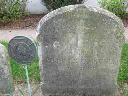 KOHL, CHARLES B.. - Bucks County, Pennsylvania | CHARLES B.. KOHL - Pennsylvania Gravestone Photos
