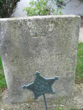 KOHL, JOSEPH H. - Bucks County, Pennsylvania | JOSEPH H. KOHL - Pennsylvania Gravestone Photos