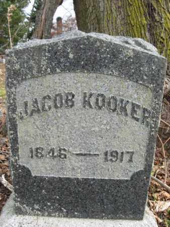 KOOKER, JACOB - Bucks County, Pennsylvania | JACOB KOOKER - Pennsylvania Gravestone Photos
