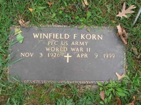 KORN, WINFIELD F. - Bucks County, Pennsylvania | WINFIELD F. KORN - Pennsylvania Gravestone Photos