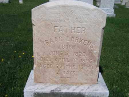 LARKINS, ISAAC - Bucks County, Pennsylvania   ISAAC LARKINS - Pennsylvania Gravestone Photos