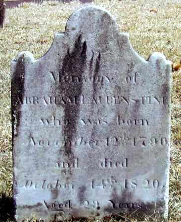 LAUBENSTINE, ABRAHAM - Bucks County, Pennsylvania   ABRAHAM LAUBENSTINE - Pennsylvania Gravestone Photos