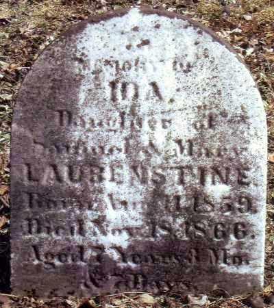 LAUBENSTINE, IDA - Bucks County, Pennsylvania | IDA LAUBENSTINE - Pennsylvania Gravestone Photos