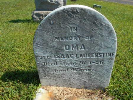 LAUBENSTINE, OMA - Bucks County, Pennsylvania   OMA LAUBENSTINE - Pennsylvania Gravestone Photos