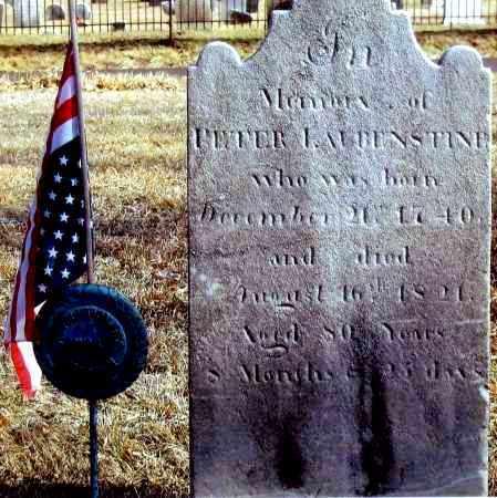LAUBENSTINE, PETER - Bucks County, Pennsylvania | PETER LAUBENSTINE - Pennsylvania Gravestone Photos