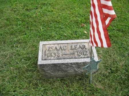 LEAR, ISAAC - Bucks County, Pennsylvania | ISAAC LEAR - Pennsylvania Gravestone Photos