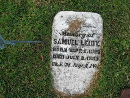 LEIDY, SAMUEL - Bucks County, Pennsylvania | SAMUEL LEIDY - Pennsylvania Gravestone Photos