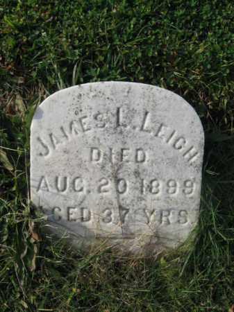 LEIGH, JAMES L. - Bucks County, Pennsylvania | JAMES L. LEIGH - Pennsylvania Gravestone Photos