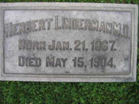 LINDERMANN, HERBERT - Bucks County, Pennsylvania | HERBERT LINDERMANN - Pennsylvania Gravestone Photos