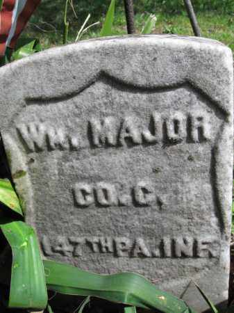 MAJOR (CW), WILLIAM - Bucks County, Pennsylvania | WILLIAM MAJOR (CW) - Pennsylvania Gravestone Photos