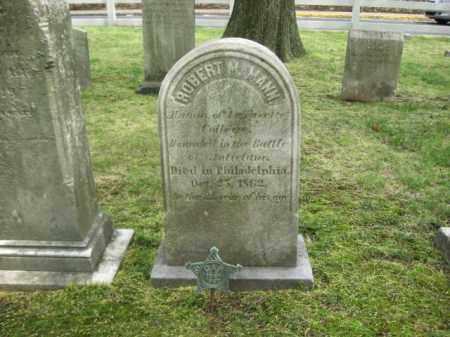 MANN  (CW), ROBERT M. - Bucks County, Pennsylvania   ROBERT M. MANN  (CW) - Pennsylvania Gravestone Photos