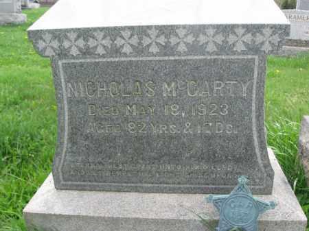 MCCARTY, CORP.NICHOLAS - Bucks County, Pennsylvania | CORP.NICHOLAS MCCARTY - Pennsylvania Gravestone Photos