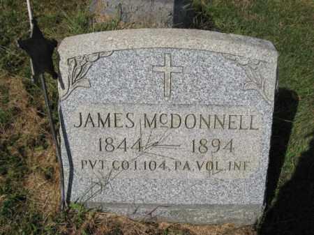 MCDONNELL (CW), JAMES - Bucks County, Pennsylvania   JAMES MCDONNELL (CW) - Pennsylvania Gravestone Photos