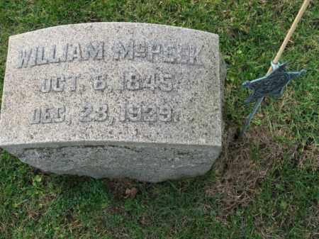 MCPEEK   (CW), WILLIAM - Bucks County, Pennsylvania | WILLIAM MCPEEK   (CW) - Pennsylvania Gravestone Photos