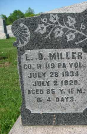 MILLER (CW), LOUIS D. - Bucks County, Pennsylvania   LOUIS D. MILLER (CW) - Pennsylvania Gravestone Photos
