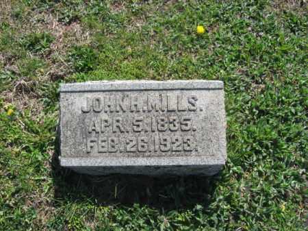 MILLS, JOHN H. - Bucks County, Pennsylvania | JOHN H. MILLS - Pennsylvania Gravestone Photos