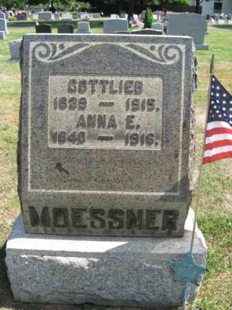 MOESSNER (CW), GOTTLIEB - Bucks County, Pennsylvania | GOTTLIEB MOESSNER (CW) - Pennsylvania Gravestone Photos