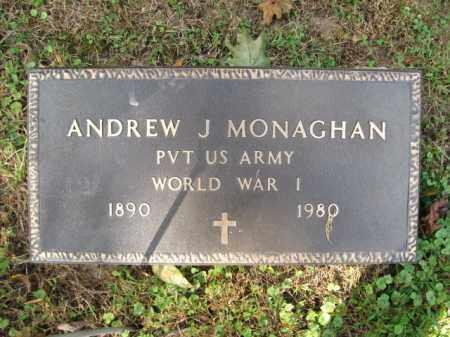 MONAGHAN (WW I), ANDREW J. - Bucks County, Pennsylvania   ANDREW J. MONAGHAN (WW I) - Pennsylvania Gravestone Photos