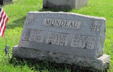 MONDEAU (CW), DAVID - Bucks County, Pennsylvania | DAVID MONDEAU (CW) - Pennsylvania Gravestone Photos