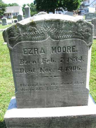 MOORE, EZRA - Bucks County, Pennsylvania | EZRA MOORE - Pennsylvania Gravestone Photos