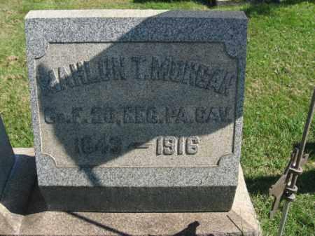 MORGAN, MAHLON T. - Bucks County, Pennsylvania | MAHLON T. MORGAN - Pennsylvania Gravestone Photos