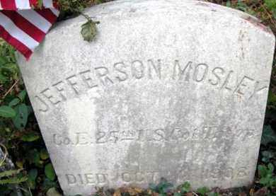 MOSLEY (CW), JEFFERSON - Bucks County, Pennsylvania | JEFFERSON MOSLEY (CW) - Pennsylvania Gravestone Photos