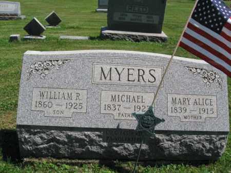 MYERS (CW), MICHAEL - Bucks County, Pennsylvania | MICHAEL MYERS (CW) - Pennsylvania Gravestone Photos