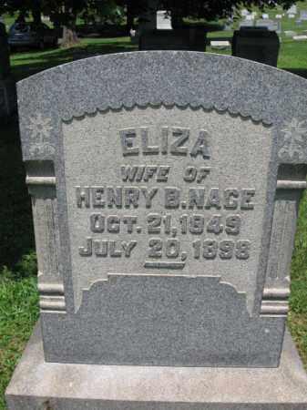 NACE, ELIZA - Bucks County, Pennsylvania | ELIZA NACE - Pennsylvania Gravestone Photos