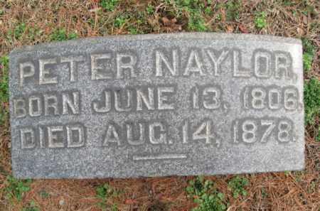 NAYLOR, PETER - Bucks County, Pennsylvania | PETER NAYLOR - Pennsylvania Gravestone Photos