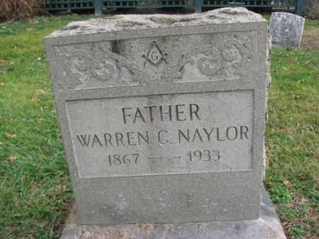 NAYLOR, WARREN G. - Bucks County, Pennsylvania   WARREN G. NAYLOR - Pennsylvania Gravestone Photos
