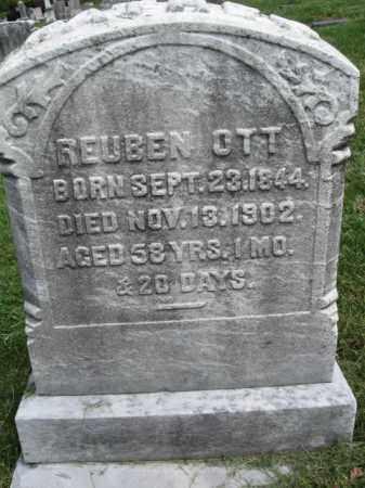 OTT, REUBEN - Bucks County, Pennsylvania | REUBEN OTT - Pennsylvania Gravestone Photos