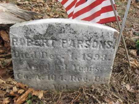 PARSONS (CW), ROBERT - Bucks County, Pennsylvania | ROBERT PARSONS (CW) - Pennsylvania Gravestone Photos