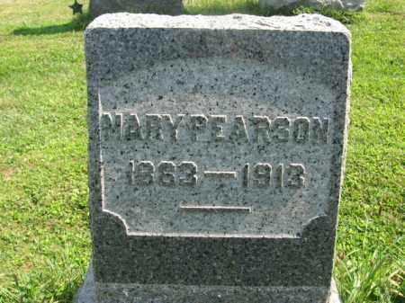 PEARSON, MARY - Bucks County, Pennsylvania   MARY PEARSON - Pennsylvania Gravestone Photos