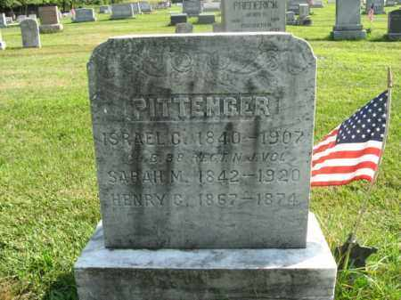 PITTENGER, ISRAEL C. - Bucks County, Pennsylvania | ISRAEL C. PITTENGER - Pennsylvania Gravestone Photos