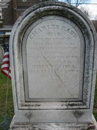 RAUB, CHARLES - Bucks County, Pennsylvania   CHARLES RAUB - Pennsylvania Gravestone Photos