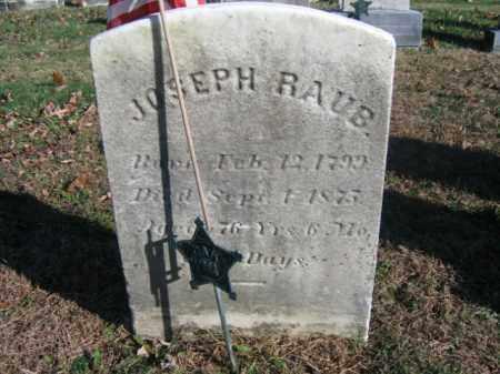 RAUB, JOHN - Bucks County, Pennsylvania | JOHN RAUB - Pennsylvania Gravestone Photos