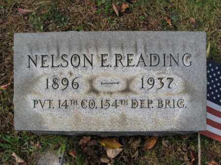 READING, NELSON E. - Bucks County, Pennsylvania   NELSON E. READING - Pennsylvania Gravestone Photos