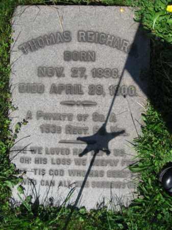 REICHARD (CW), THOMAS - Bucks County, Pennsylvania   THOMAS REICHARD (CW) - Pennsylvania Gravestone Photos