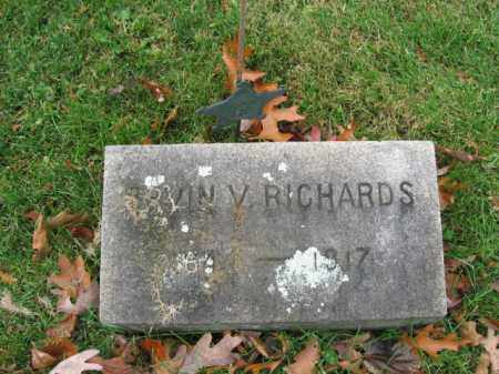 RICHARDS  (CW), ERVIN V. - Bucks County, Pennsylvania | ERVIN V. RICHARDS  (CW) - Pennsylvania Gravestone Photos