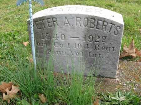 ROBERTS, CORP.PETER A. - Bucks County, Pennsylvania   CORP.PETER A. ROBERTS - Pennsylvania Gravestone Photos