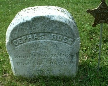 ROSS (CW), CEPHAS - Bucks County, Pennsylvania | CEPHAS ROSS (CW) - Pennsylvania Gravestone Photos