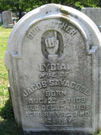 SAVACOOL, LYDIA - Bucks County, Pennsylvania   LYDIA SAVACOOL - Pennsylvania Gravestone Photos