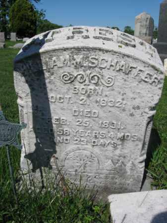 SCHAFFER (SHAFFER) (CW), WILLIAM M. - Bucks County, Pennsylvania | WILLIAM M. SCHAFFER (SHAFFER) (CW) - Pennsylvania Gravestone Photos